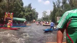 Lee más sobre el artículo Terremoto en México, vídeo de Xochimilco CDMX