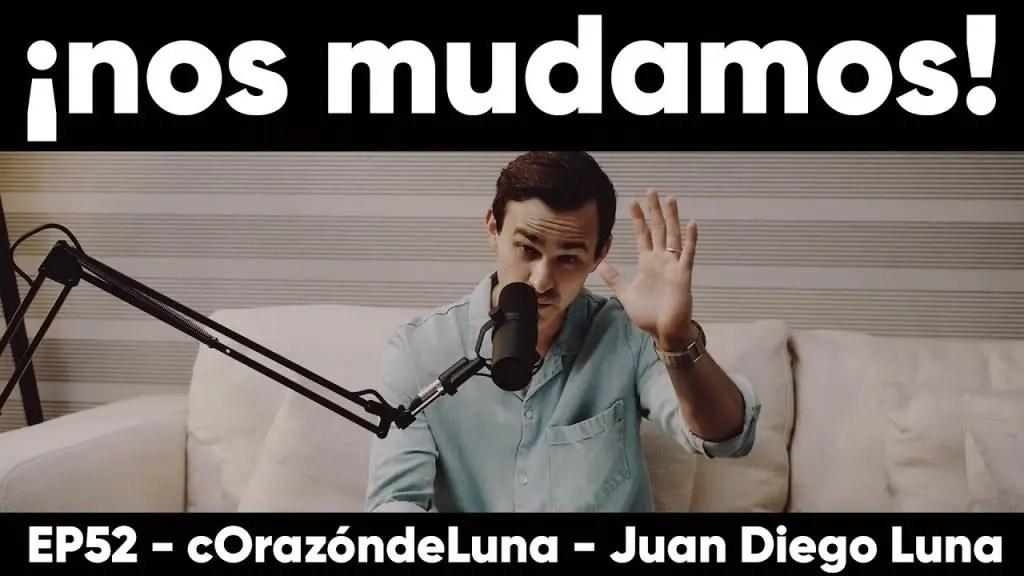 Lee más sobre el artículo ¡Nos mudamos! – Juan Diego Luna, Corazón de Luna