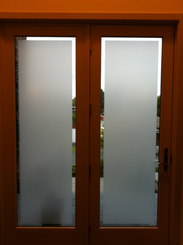 UV Privacy Residential Window Film Frosted Tint Fog Glare