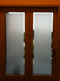 Glass Windows: Frosted Glass Window Film