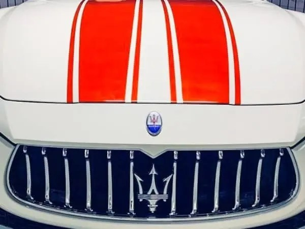 masarati racing stripes