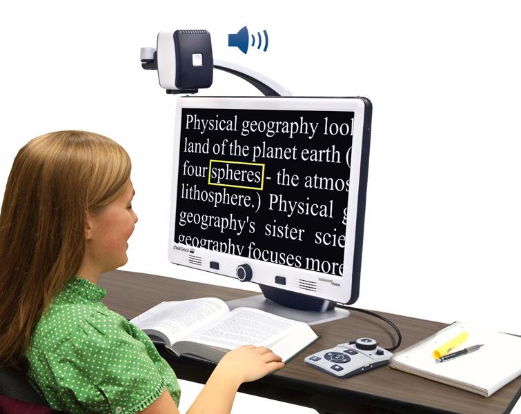 Desktop Electronic Magnifier