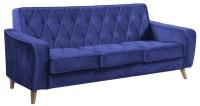 Royal Blue Velvet Sofa Royal Blue Velvet Sofa Home ...