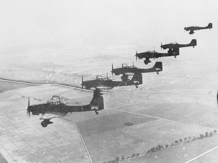 "Junkers Ju 87 ""Stukas"" over Poland, September/October 1939"