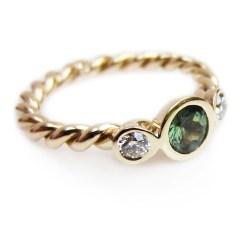 Natural Alexandrite Ring