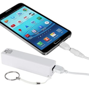 Cargador Llavero-Power Bank 2000mAh