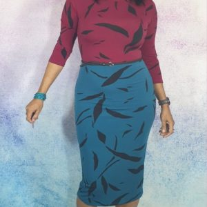 Pattern no. 6 Xaviera Dress
