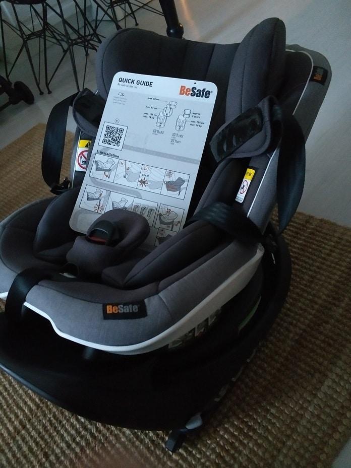 besafe izi turn en iyi bebek oto koltugu kullanma kilavuzu