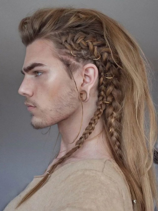94 long hairstyles for men, long hair don't care!