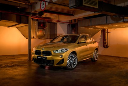 The First-Ever BMW X2 (1)