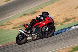 The New BMW S 1000 RR in Racing Red