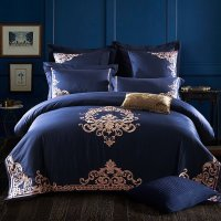 Royal Blue And Gold Bedding - Bedding Designs