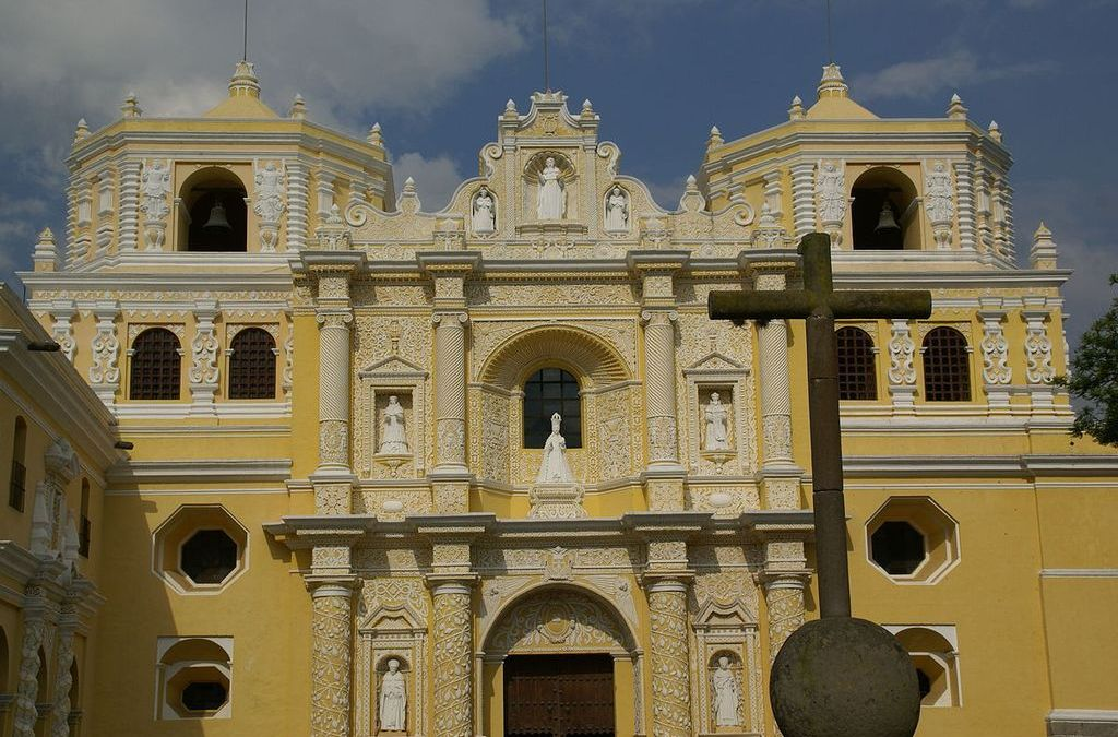 Church La Merced in Antigua Guatemala