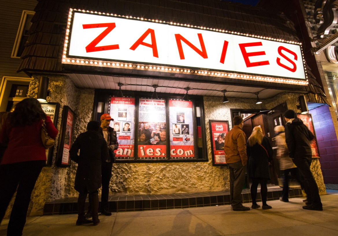 Zanies Comedy Club - Chicago | Enjoy Illinois