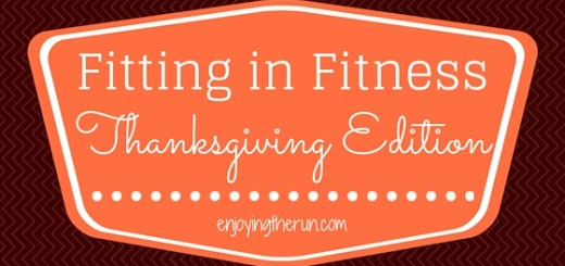 fitting in fitness thanksgiving
