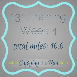 Half Marathon Training: Week 4 | Enjoying the Run