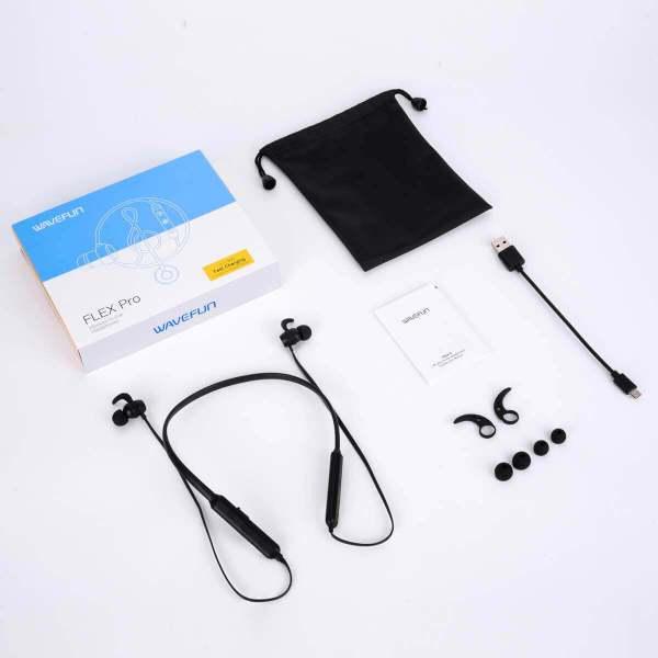 Wavefun Flex Pro Bluetooth 5.0 Wireless Earphone Fast Charging