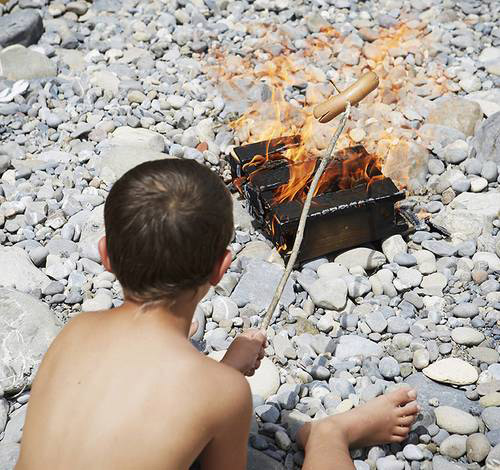 n heisse Sack  das Feuer in der Tte  Gadgets und Geschenke