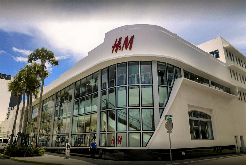 H&M da Lincoln Road.