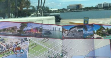 Mapa do Big Bus. Foto: Enjoy Miami