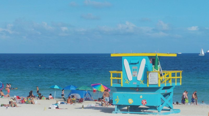 Praia de South Beach. Foto: Enjoy Miami