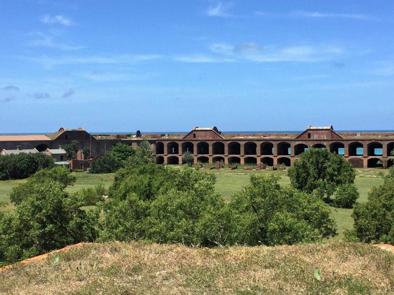 Ruínas do Fort Jefferson. Foto: Enjoy Miami