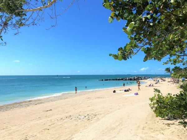A melhor praia de Key West