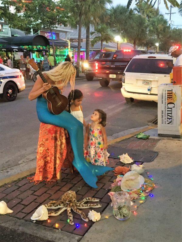 Artista de rua de Key West
