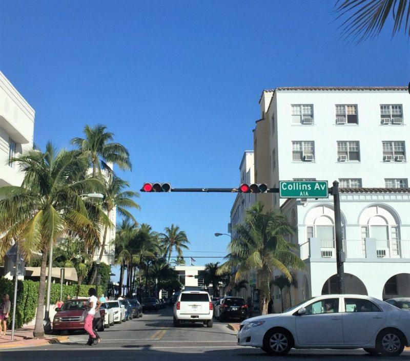 Dirigindo pelas ruas de Miami Beach!
