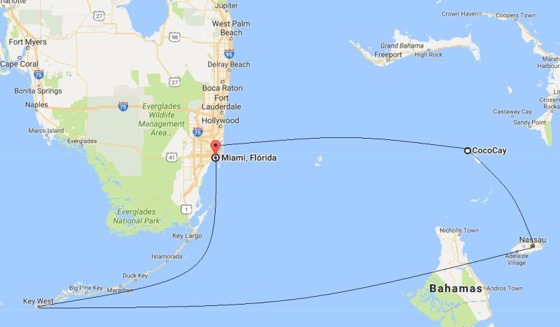cruzeiro de miami para bahamas: uma viagem que vale cada