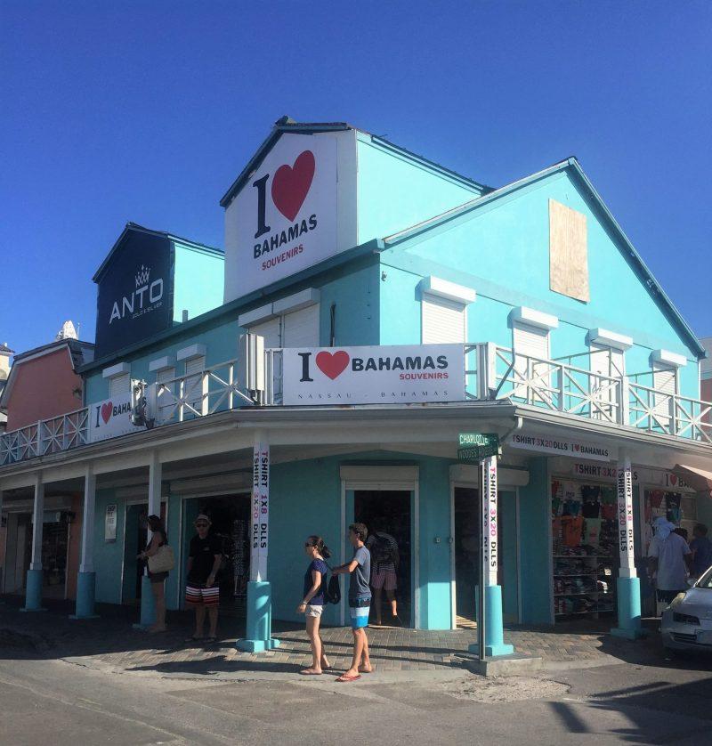 Onde fica as Bahamas