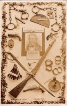 Tasmania has a rich criminal history ... these are relics of bushranger Martin Cash