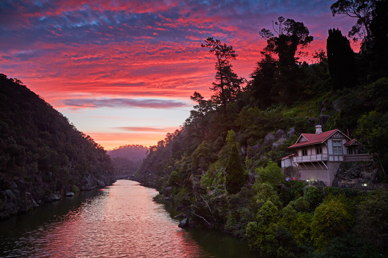 Beautiful Cataract Gorge is within easy walking distance of Launceston CBD