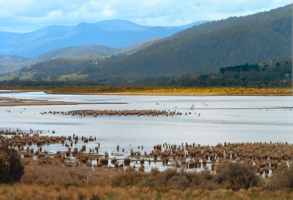 The Huon River and Huon Valley