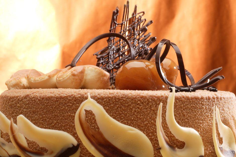 kuchen mit maronen
