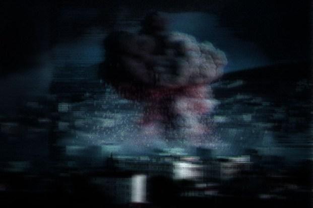 """""""The Battle for Kobane (01)"""" glitch 4th°, 800x533px, 2014"""