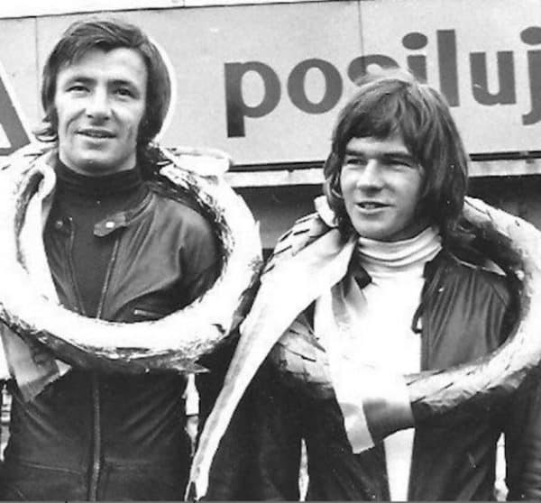 Angel Nieto - Barry Sheene