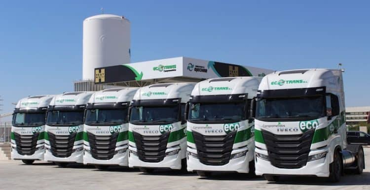 Entrega Global Feed Ecotrans - IVECO
