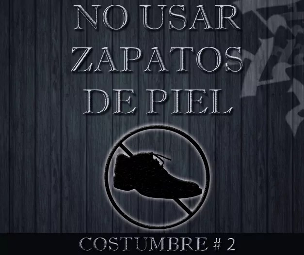 Costumbre #2 de Yom Kipur: No usar zapatos de piel