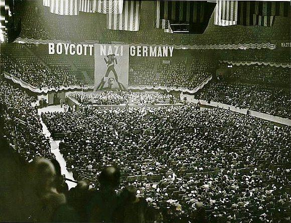 1937 - Rally Judío de Nueva York - Enlace Judío México