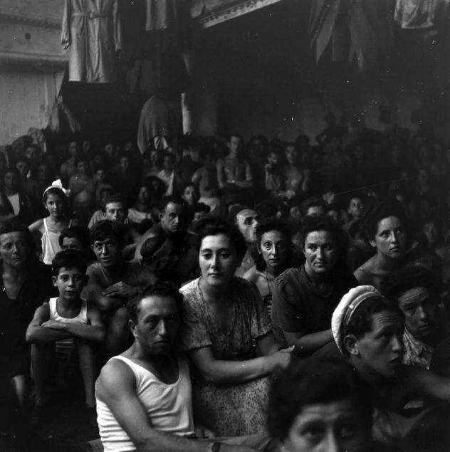 1944 - De Italia a EUA - Sobrevivientes del Holocausto en barco - Enlace Judío México