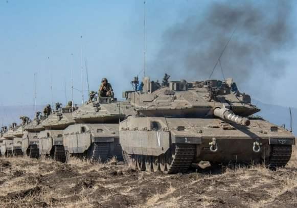 Batallón 75º de la Séptima Brigada con su nuevo Merkavá MK (UNidad Portavoz IDF)