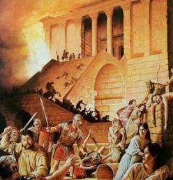 Roman destruction of Jerusalem in 70 C.E