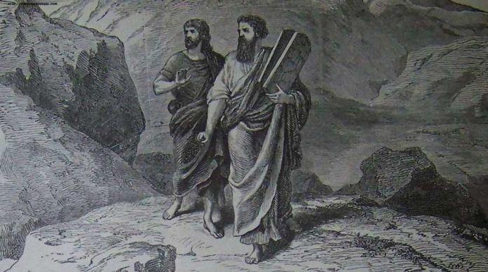 Moises y Joshua