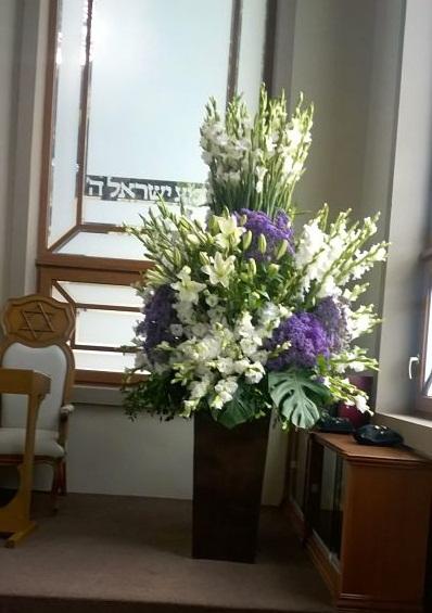 Esquina flores, shul Yom K_opt