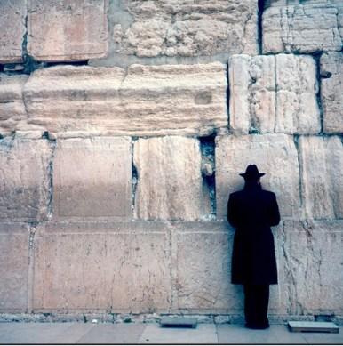 Kotel and Rabbi
