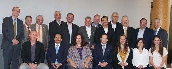 Juan Zepeda, candidato del PRD al Estado de México, se reúne con la Comunidad Judía de México