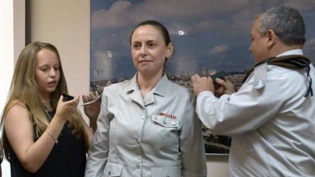El Estado Mayor de las FDI incorpora a la cuarta mujer