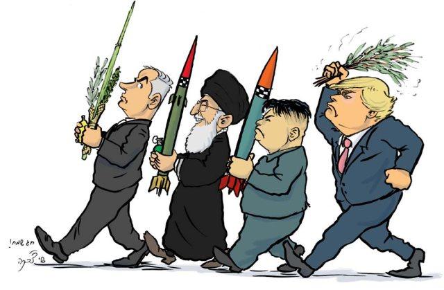 """Caricatura: las cuatro """"especies"""""""