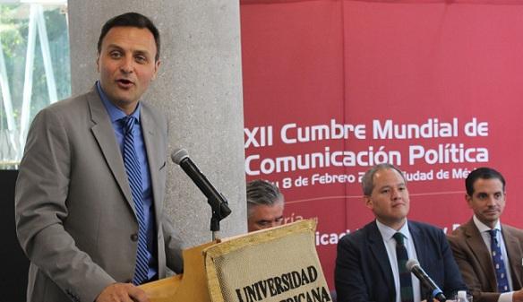 La CDMX será sede de la Cumbre Mundial de Comunicación Política